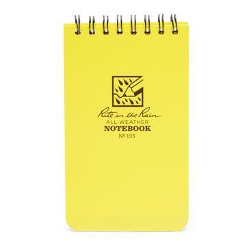 """Yellow Rite Waterproof 3"""" x 5"""" Notepad"""