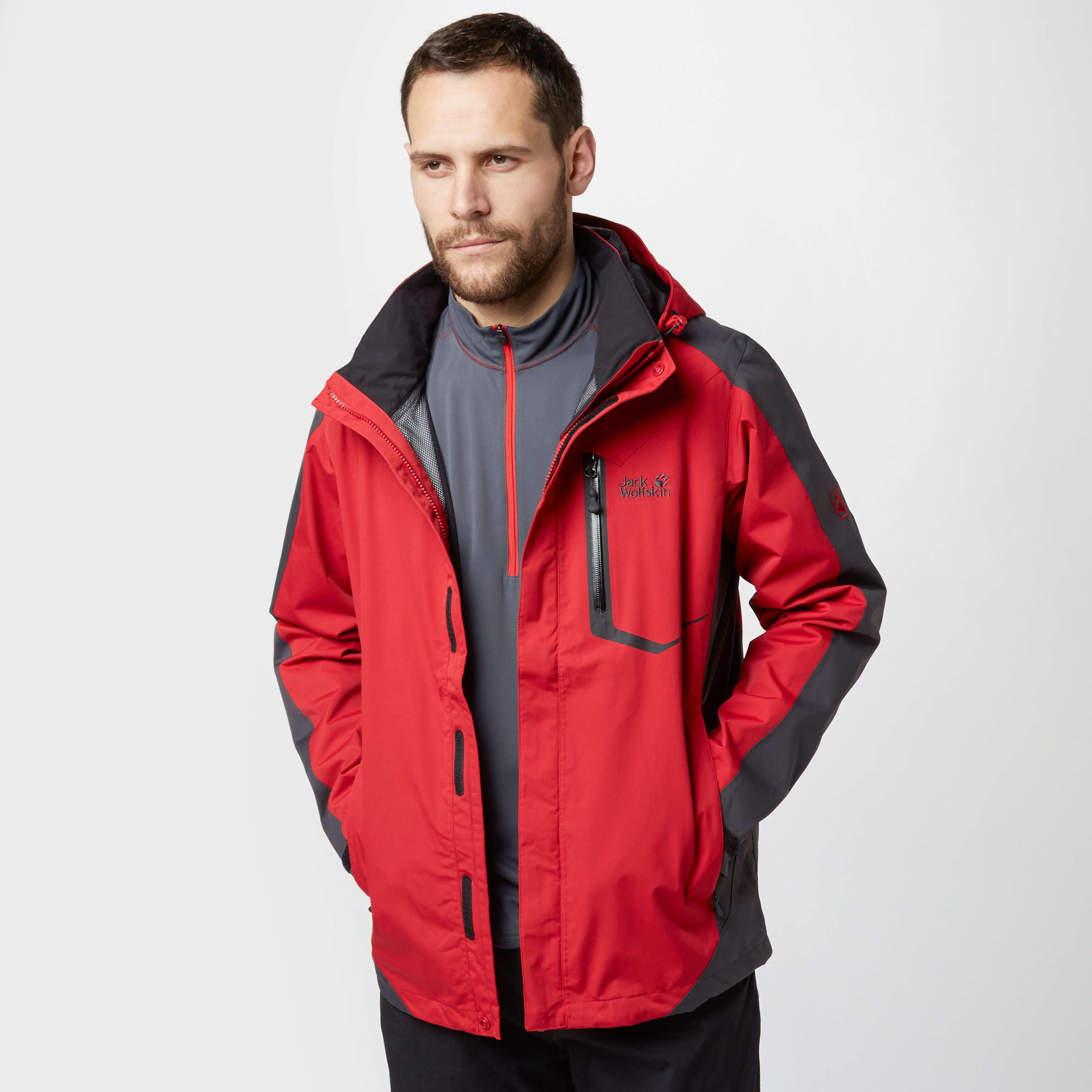JACK WOLFSKIN Men's Positron Texapore Jacket
