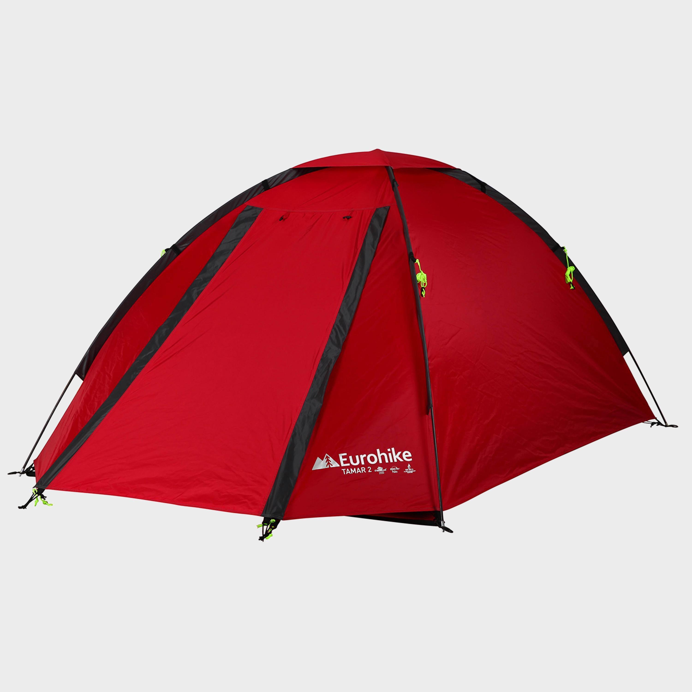 Eurohike Eurohike Tamar 2 Man Tent - Red, Red