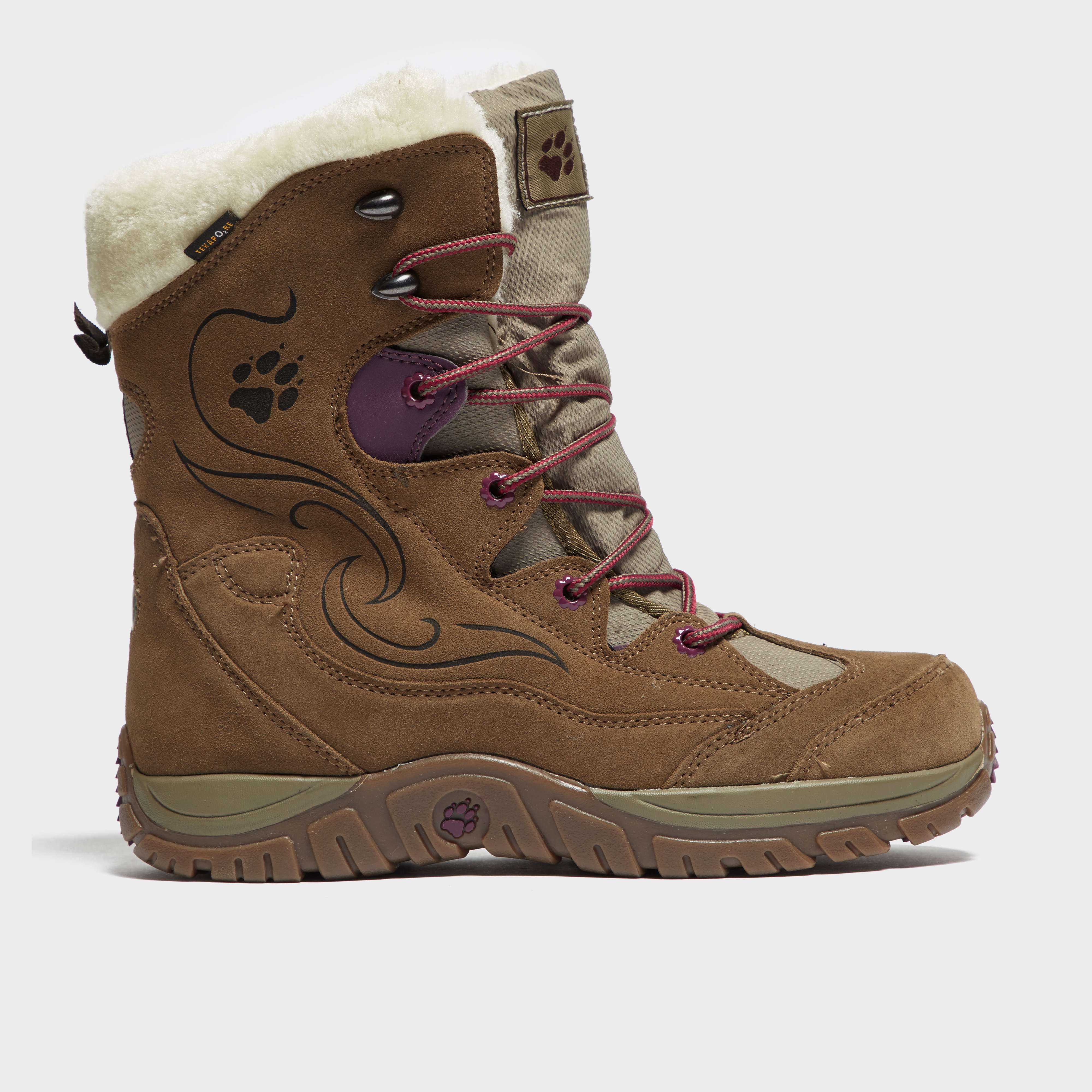 JACK WOLFSKIN Girl's Lake Tahoe Texapore Snow Boots