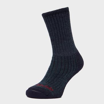 Blue Bridgedale Men's Comfort Trekker Socks