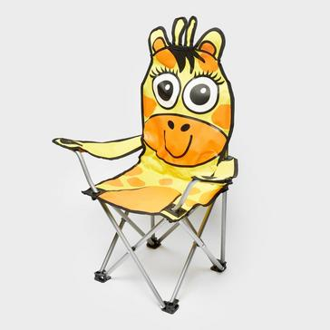 Orange Eurohike Giraffe Camping Chair
