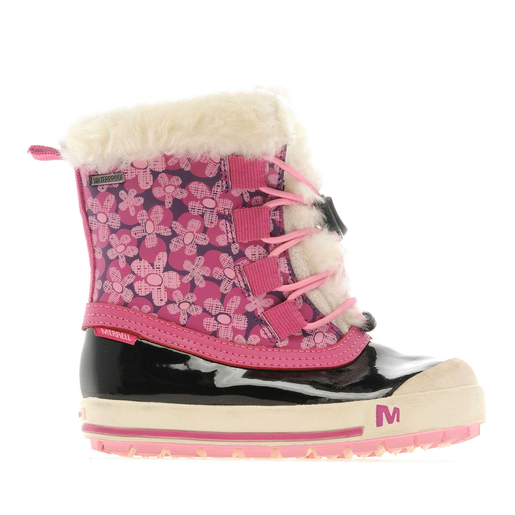 MERRELL Girl's Harmony Lace Walking Boots
