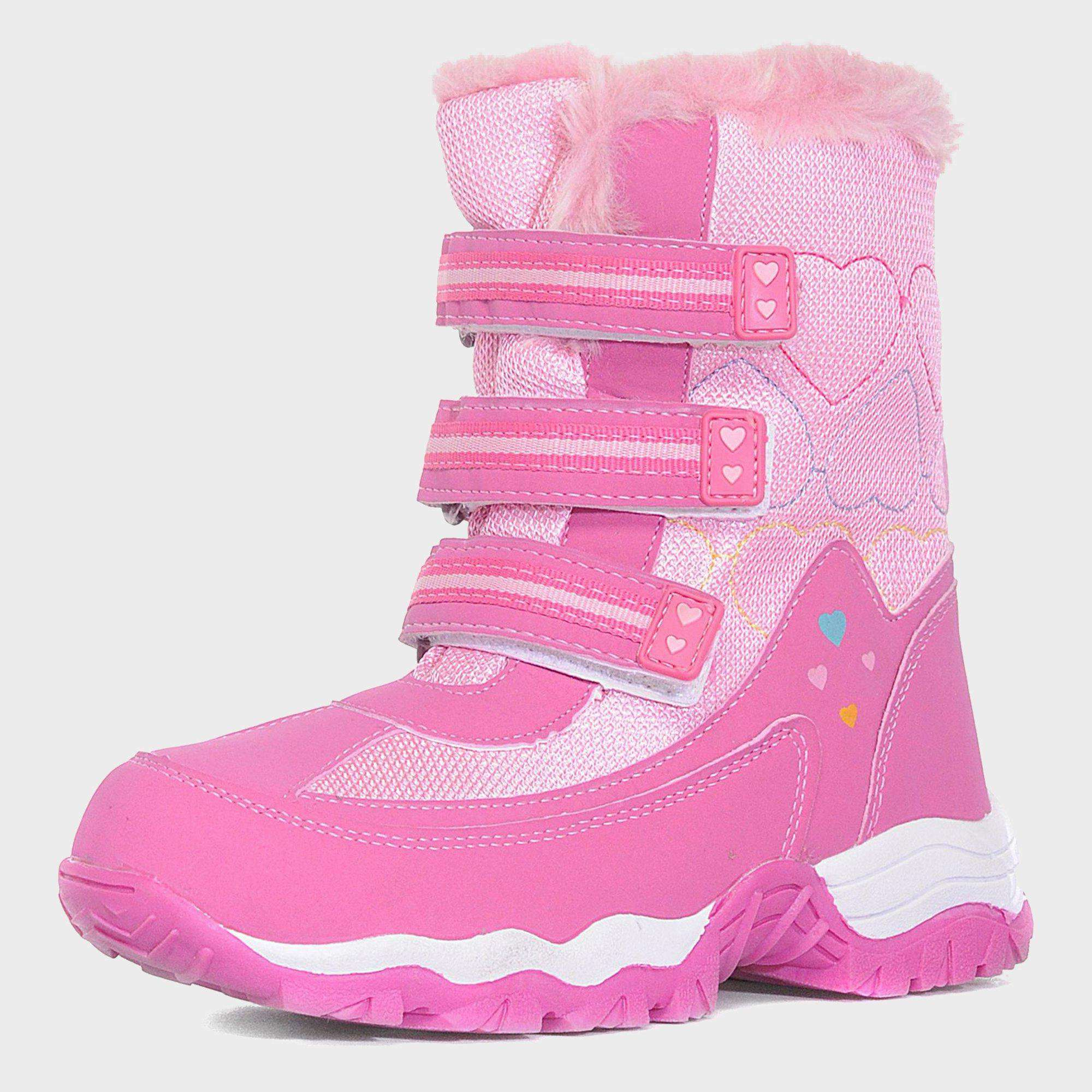 ALPINE Girl's Fur Snow Boots