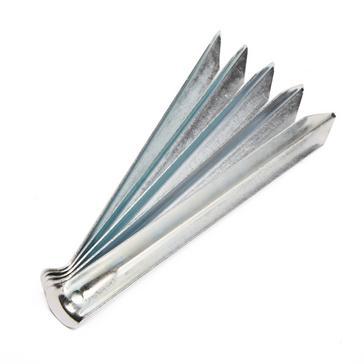 Silver VANGO Steel V Pegs