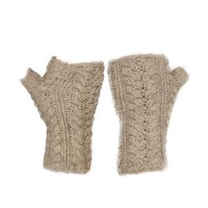 KUSAN Women's Cable Knit Handwarmers