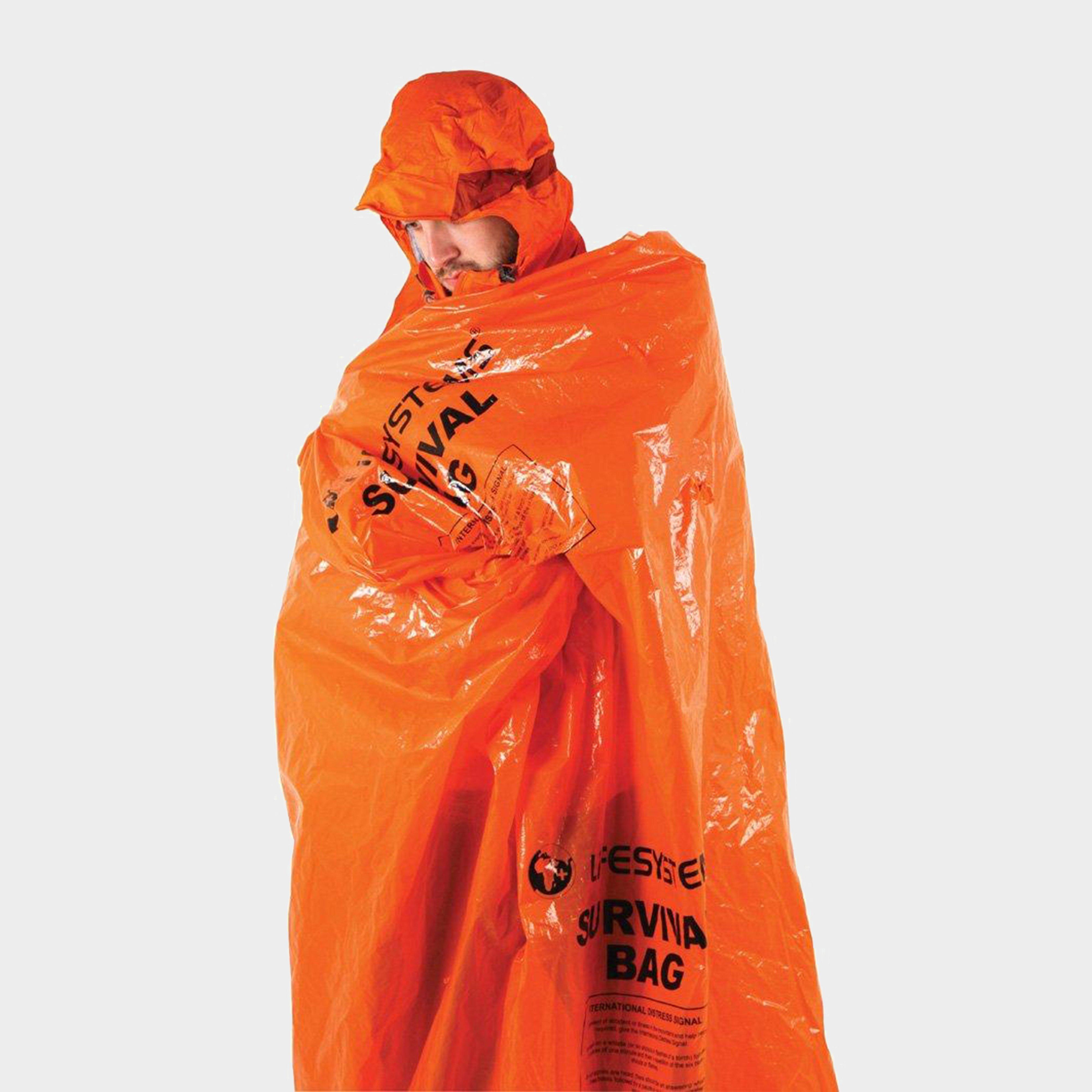 Image of Lifesystems Survival Bag - Orange/Assorted, Orange/ASSORTED