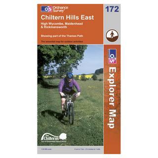 Explorer 172 Chiltern Hills East Area Map