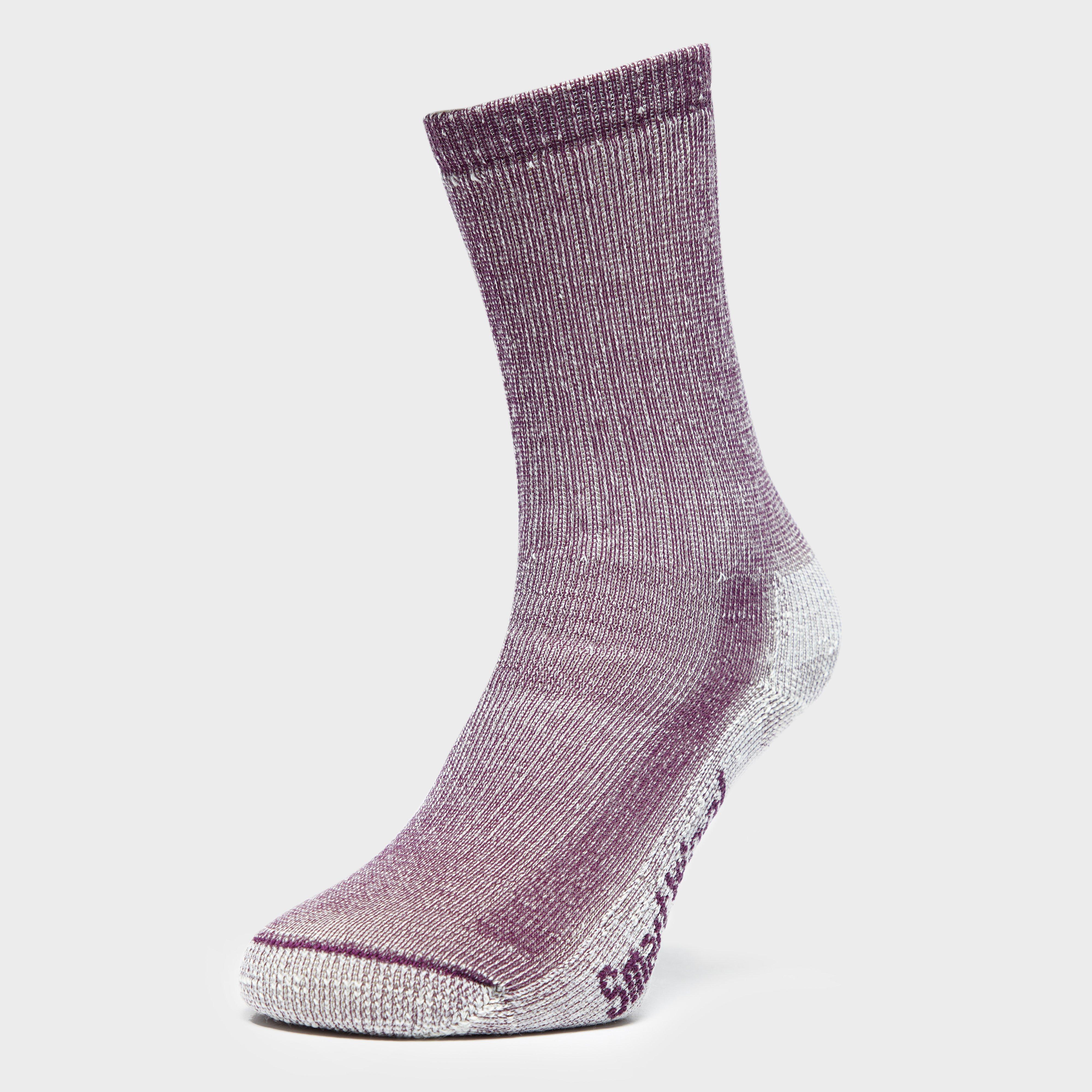 SmartWool Smartwool womens Hiking Medium Crew Socks - Purple, Purple