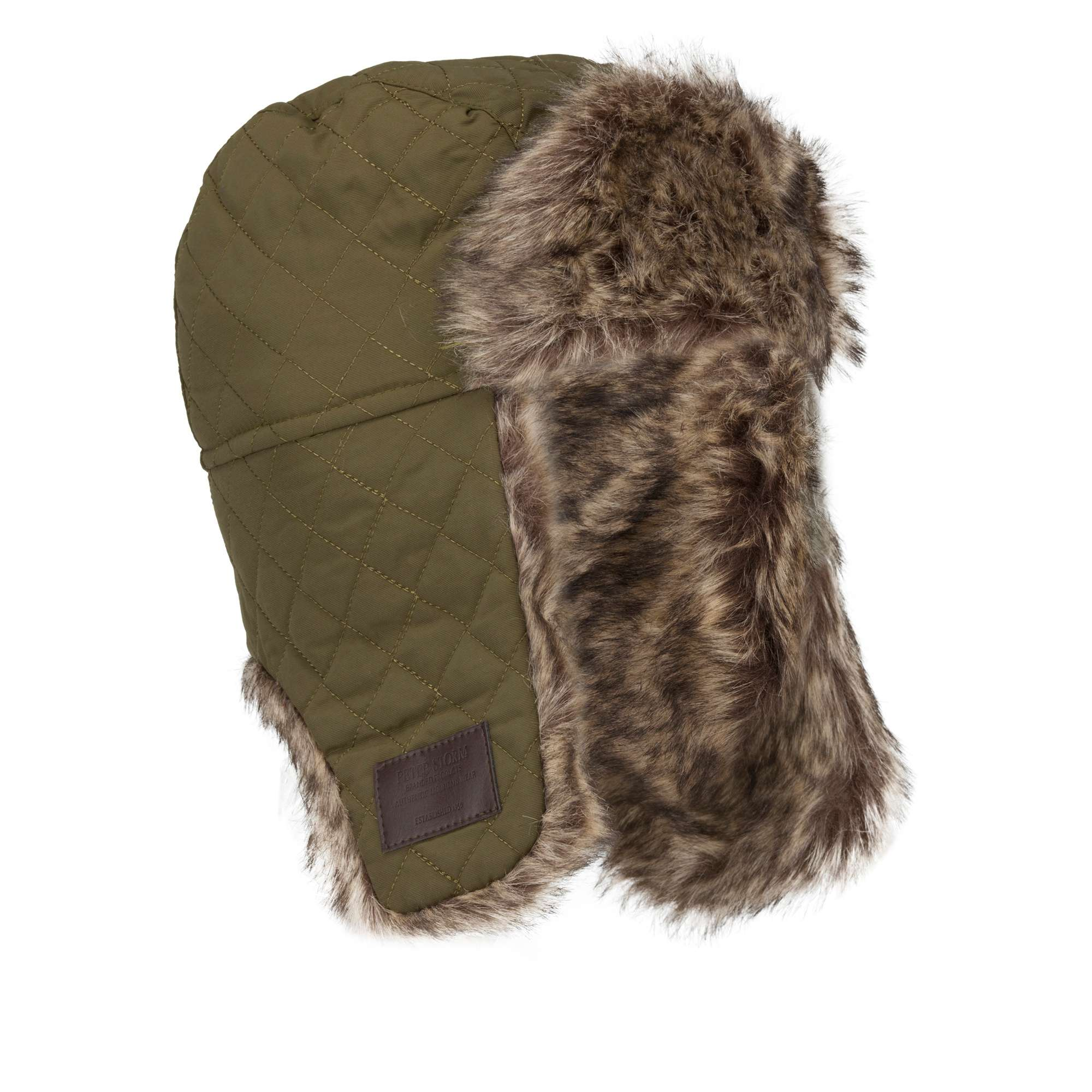 PETER STORM Alfie Fur Lined Trapper Hat