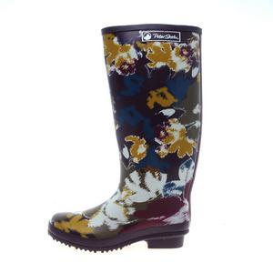 PETER STORM Women's Vintage Floral Wellies