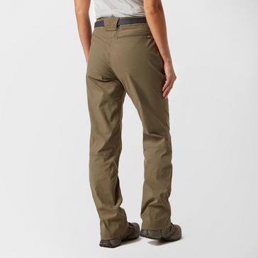 Brown Brasher Women's Stretch Walking Trousers