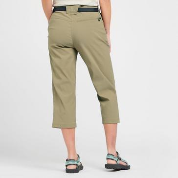 Beige Brasher Women's Stretch Crop Trouser