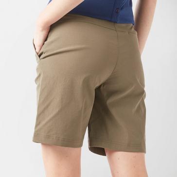 Khaki Brasher Women's Stretch Walking Shorts