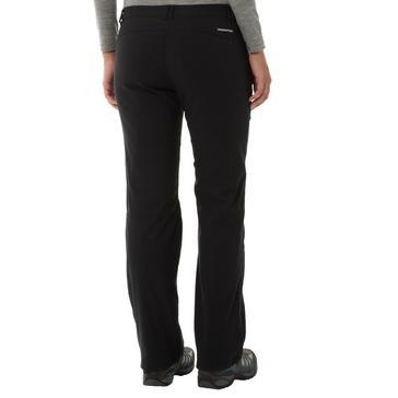 Black Craghoppers Women's Kiwi Stretch Lined Pants