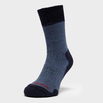 Blue Bridgedale Women's Comfort Summit Socks