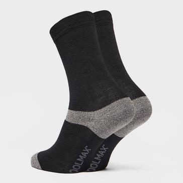Black Peter Storm Unisex Multiactive Coolmax Liner Sock - Twin Pack