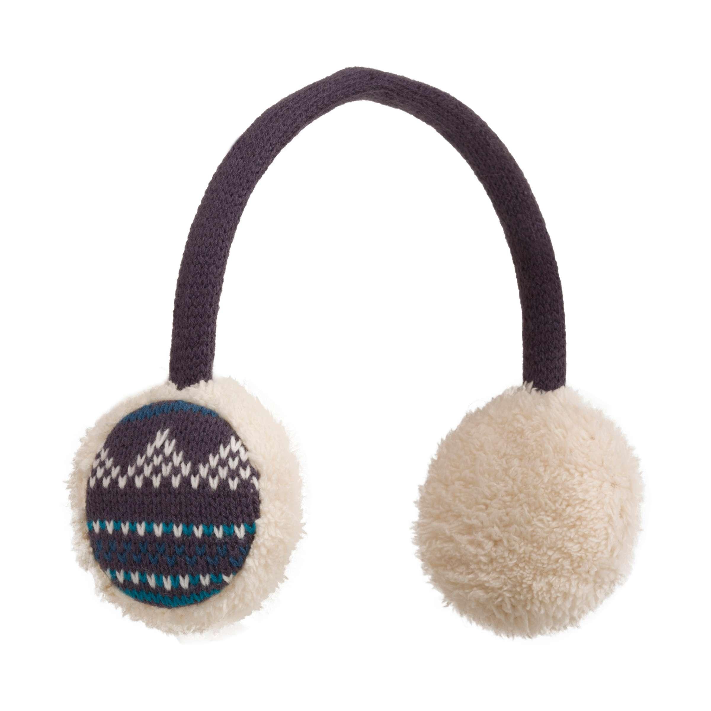 PETER STORM Women's Fairisle Earmuffs