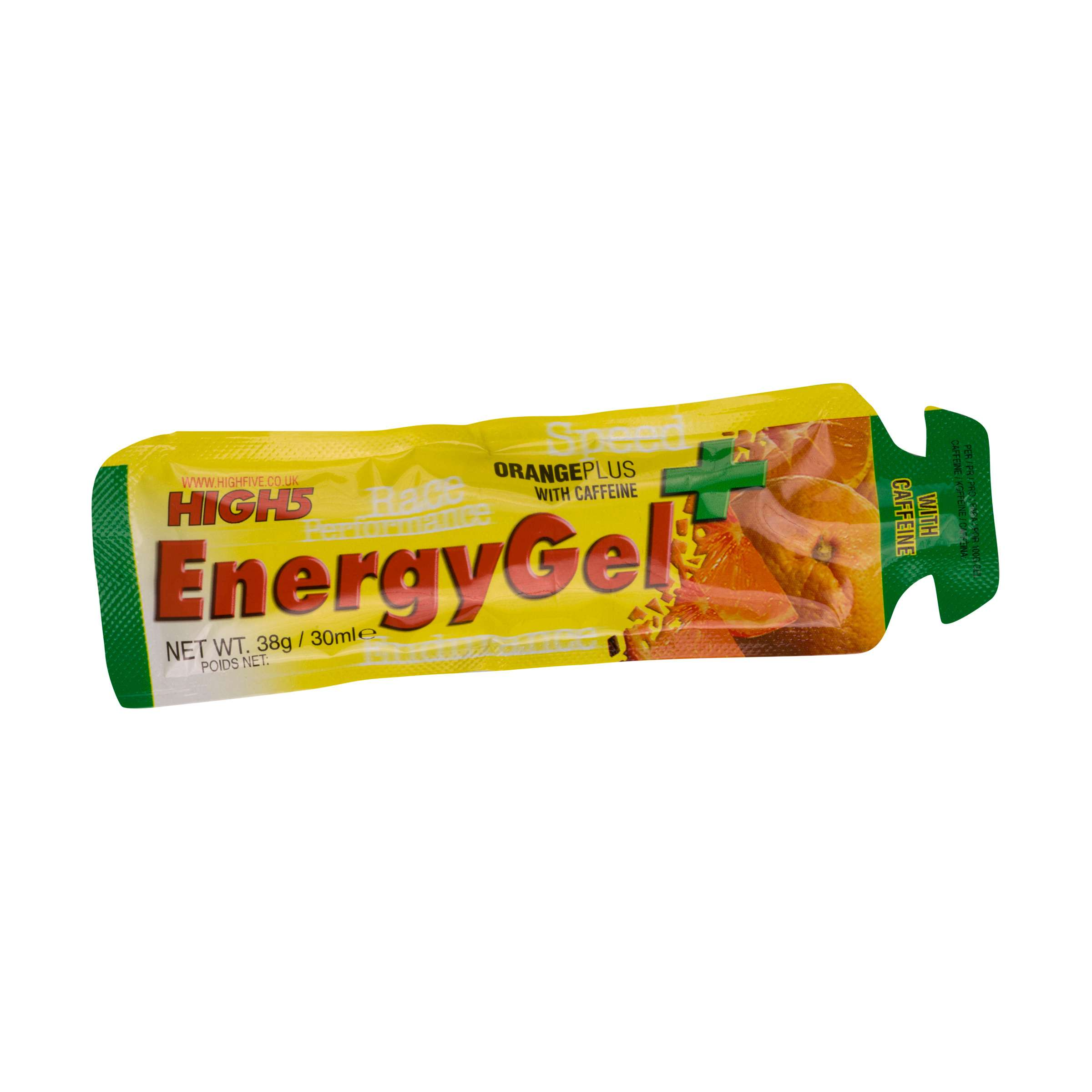 HIGH 5 Energy Gel with Caffeine - Orange
