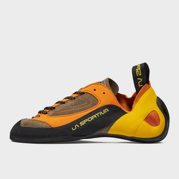 Orange LA Sportiva Men's Finale Climbing Shoes