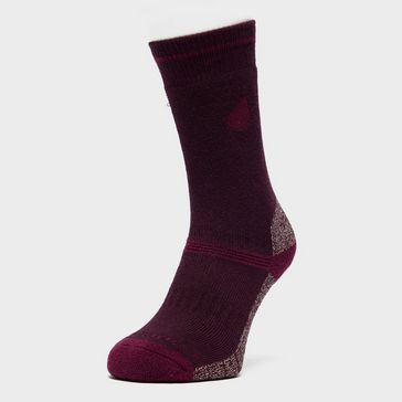44eb12952fd94 Purple PETER STORM Women's Midweight Coolmax Hiking Socks - Twin ...