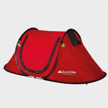 Red Eurohike Quick Pitch 200 SD 2 Man Tent