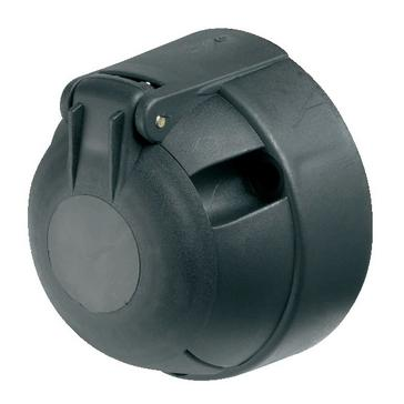 Multi Ring 12N 7 Pin Plastic Socket with Fog Cut Out (A0012)