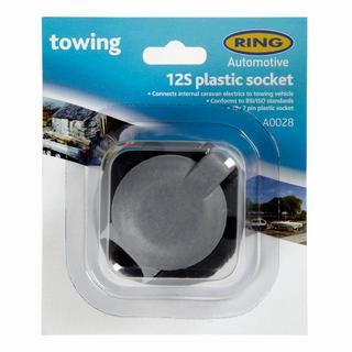 12S 7 Pin Plastic Socket (A0028)