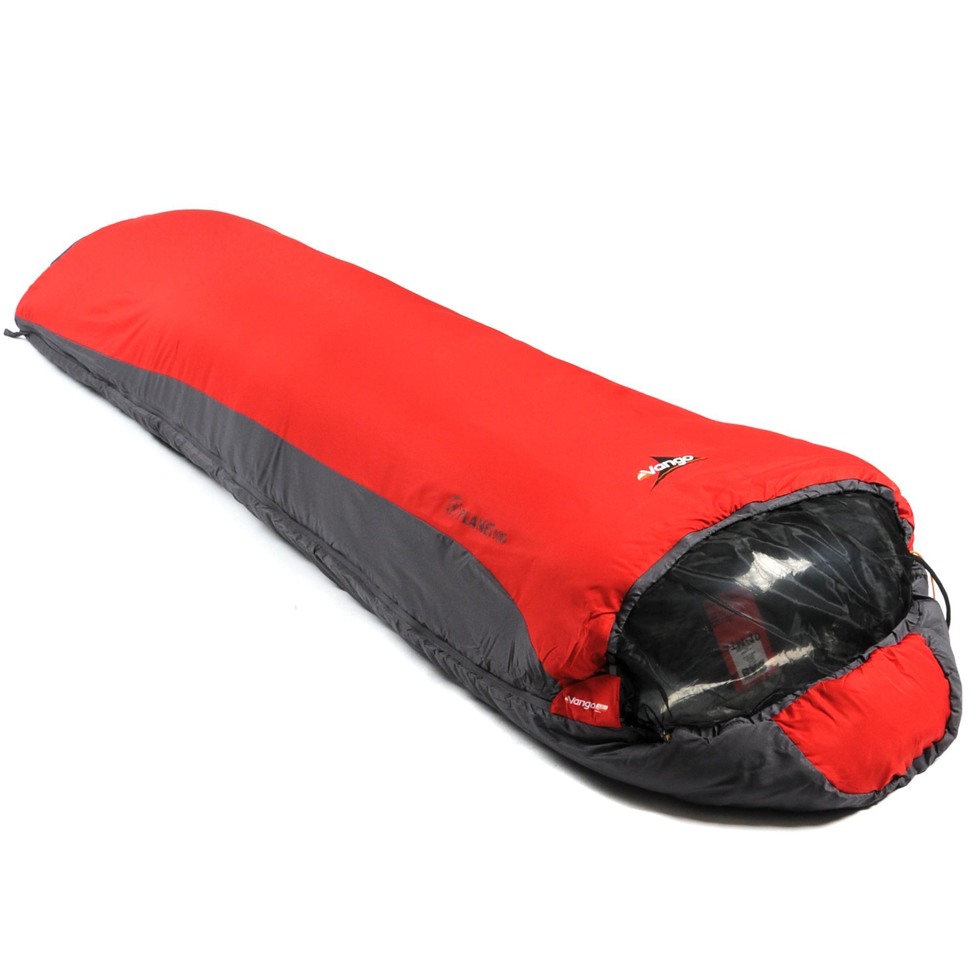 Vango Planet 100 Sleeping Bag Red