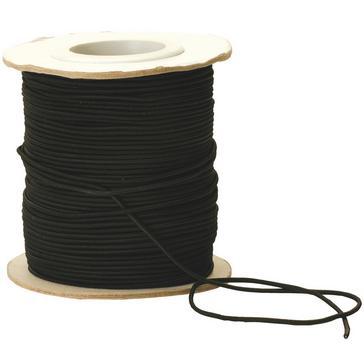 Black VANGO Shockcord Roll 2.5mm