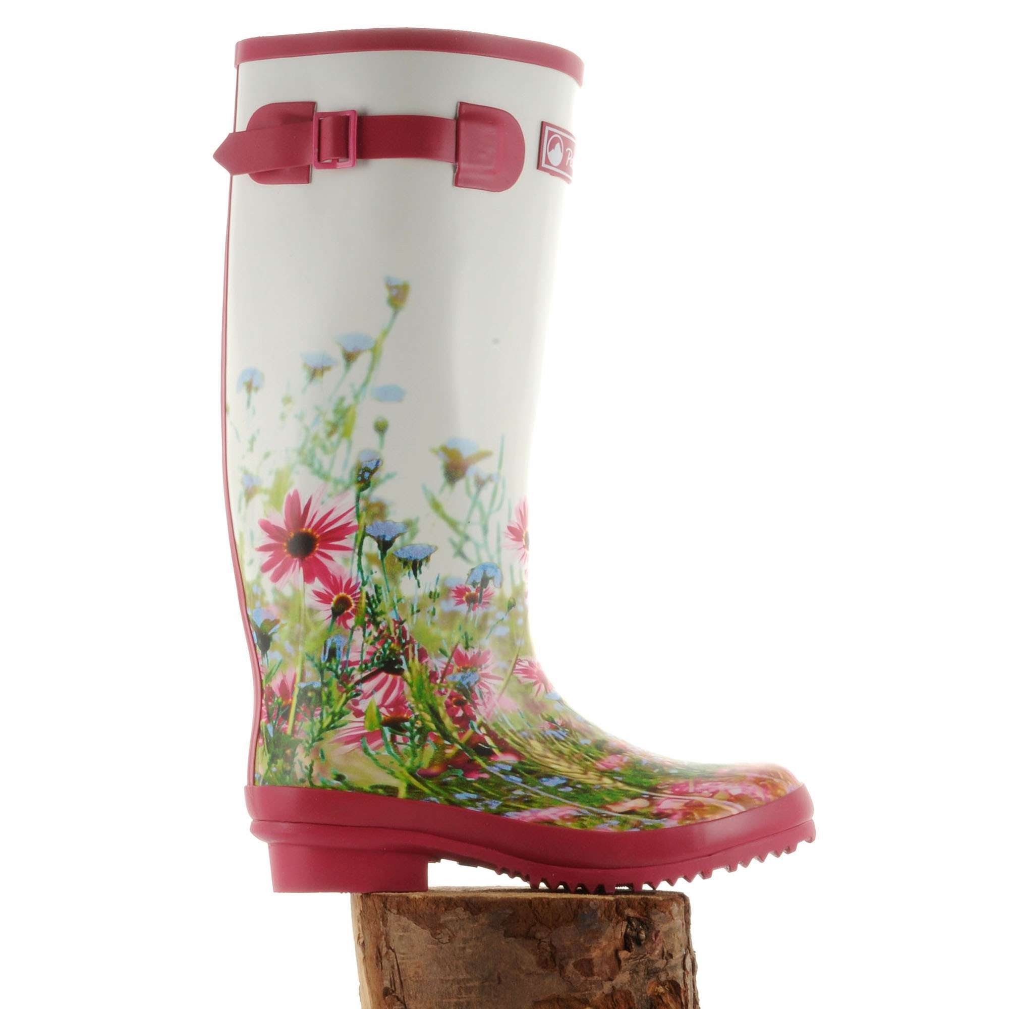 PETER STORM Women's Floral Wellies