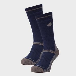PETER STORM Men's Midweight Outdoor Socks - 2 Pair Pack