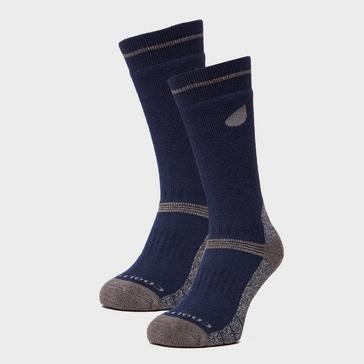 Blue Peter Storm Men's Midweight Outdoor Socks - Twin Pack