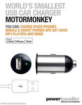 MotorMonkey In-Car Charger