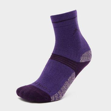52ff46343e2e9 Purple PETER STORM Girls  Midweight Trekking Sock - Twin ...