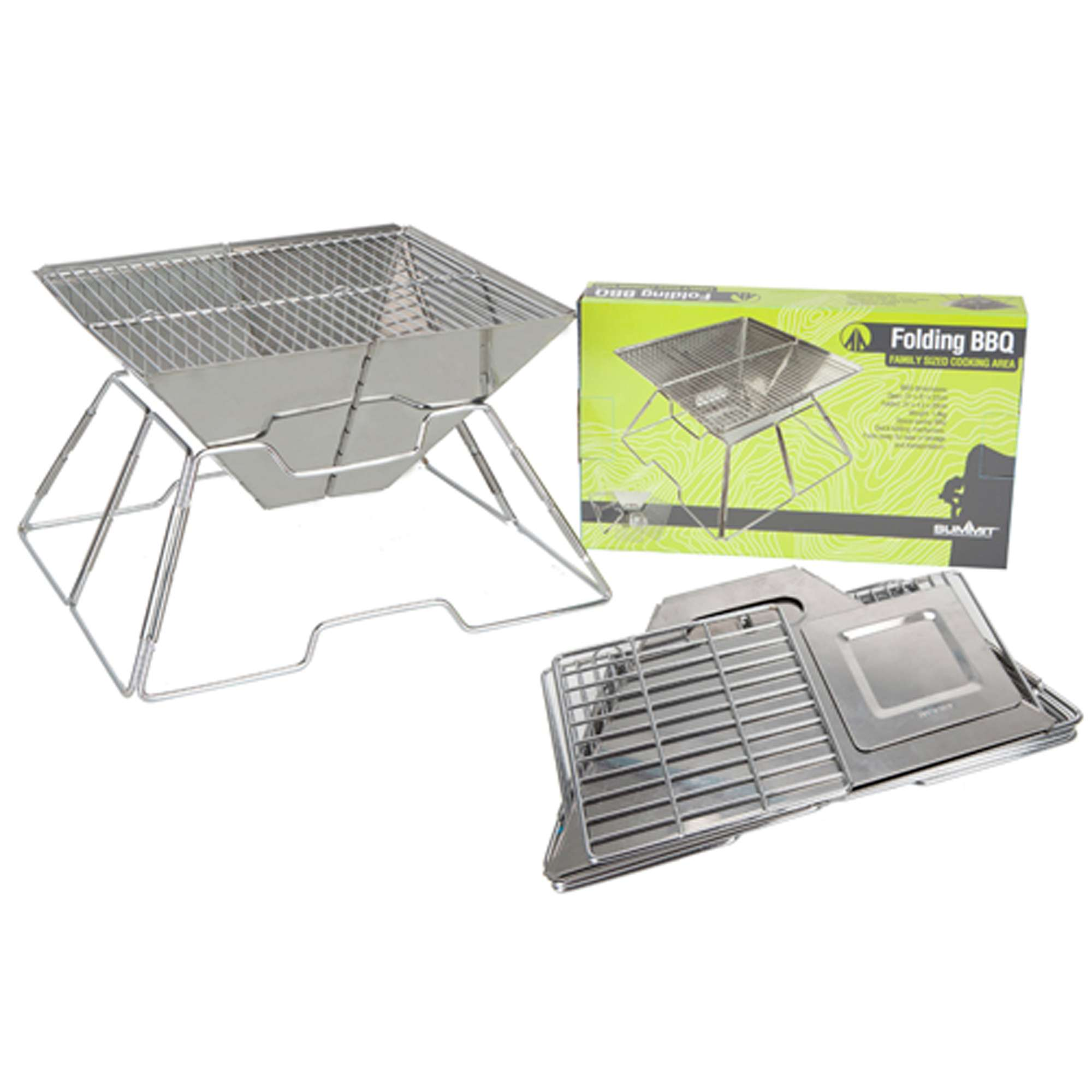 SUMMIT Foldable Stainless Steel BBQ