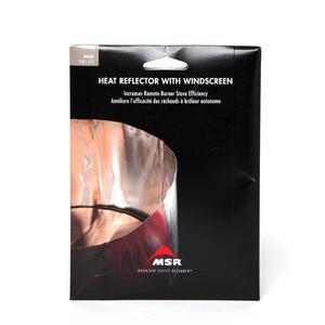 MSR Solid Heat Reflector with Windscreen