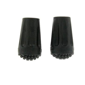 Black Leki 2 Pack Rubber Walking Pole Tips