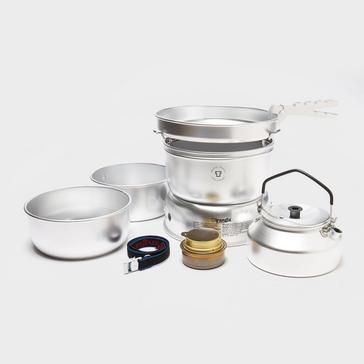 Silver Trangia Aluminium 25-2 Cooker & Kettle