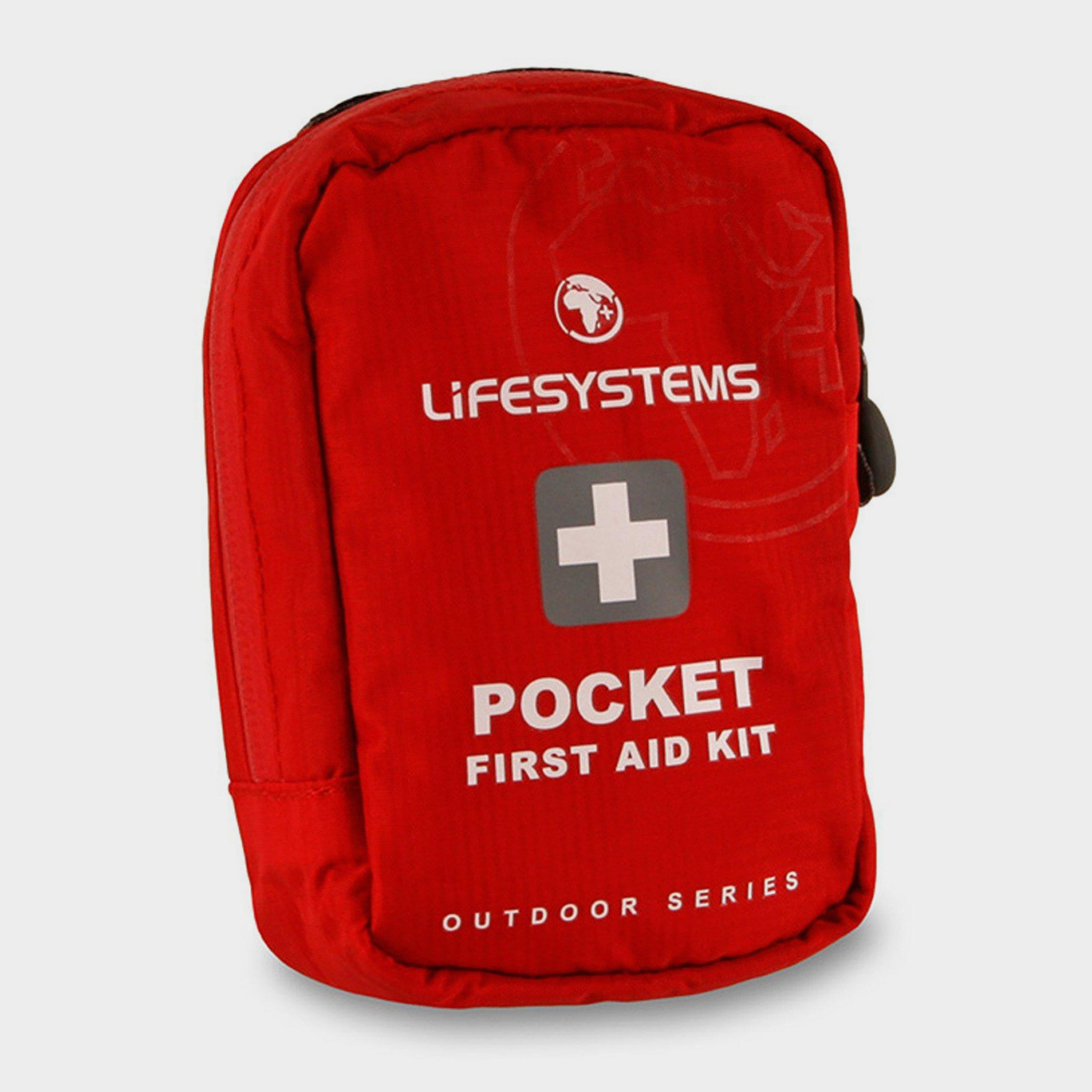 Lifesystems Lifesystems Pocket First Aid Kit - Red, Red