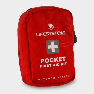 Red Lifesystems Pocket First Aid Kit