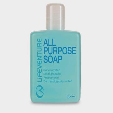 Light Blue LIFEVENTURE All Purpose Soap 200ml