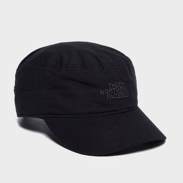 53e94546a5e Black THE NORTH FACE Logo Military Cap ...
