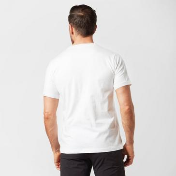 White Berghaus Men's Corporate Logo T-Shirt