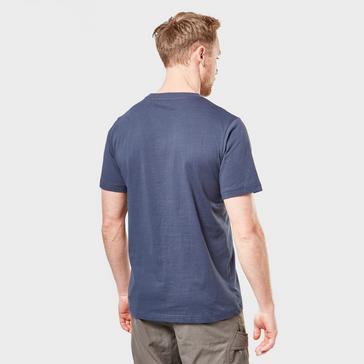 Blue Berghaus Men's Corporate Logo T-Shirt