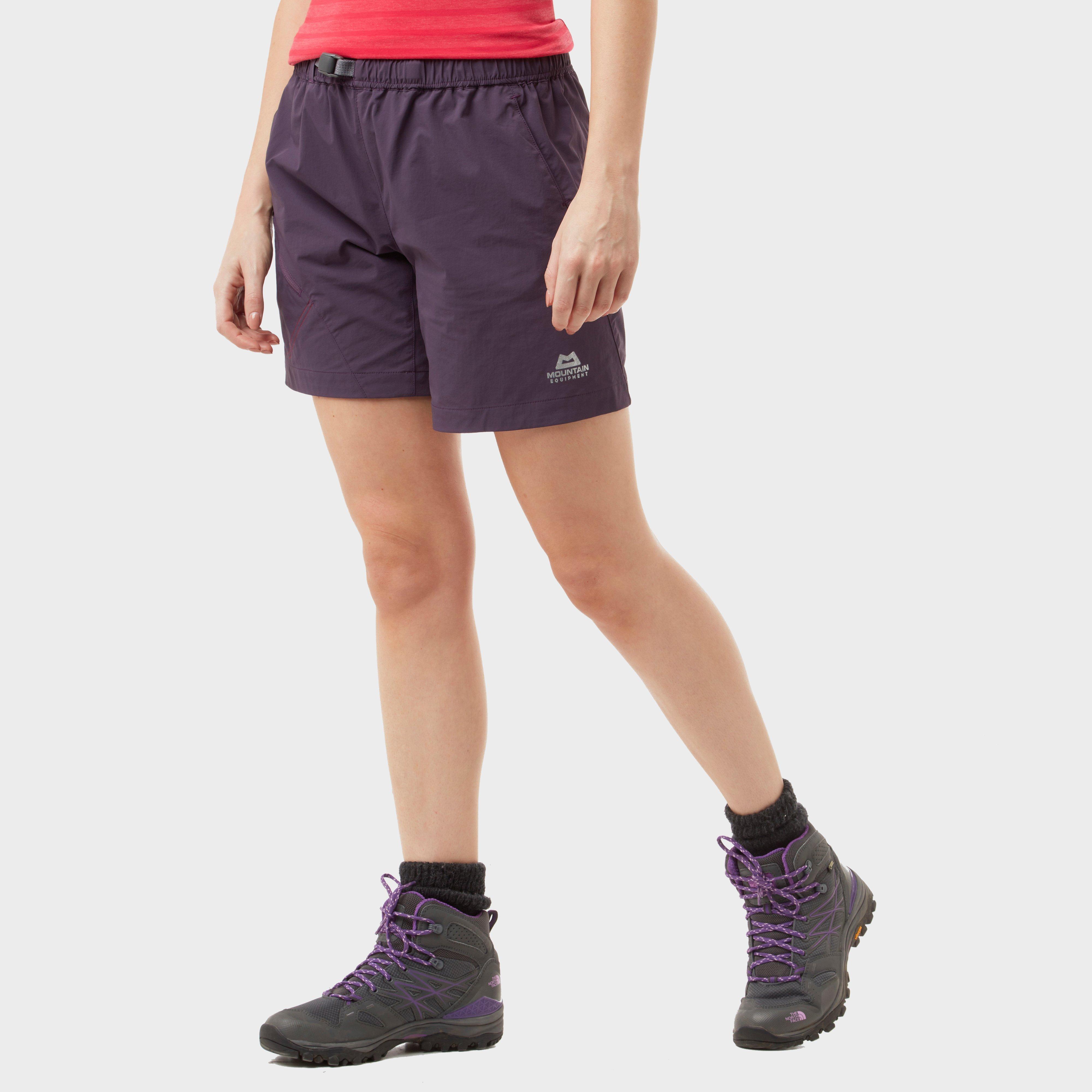 Mountain Equipment Mountain Equipment Womens Comici Trail Shorts - Purple, Purple