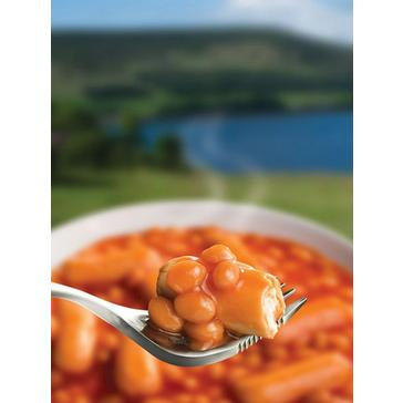 Black Wayfayrer Beans and Sausage in Tomato Sauce
