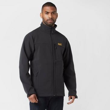 Black Jack Wolfskin Men's Torngat Softshell Jacket