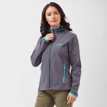 998ac0cebb JACK WOLFSKIN Women's Turbulence Softshell Jacket