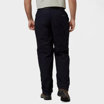 Navy Craghoppers Men's Kiwi Zip Off Trousers